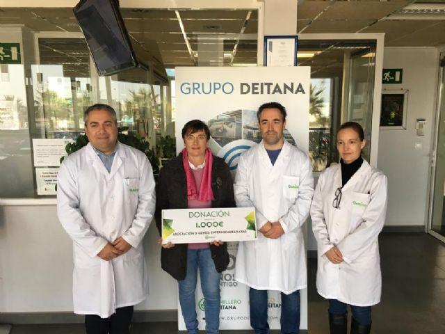 Semilleros Deitana realiza una aportación solidaria de 1.000 euros a D´Genes