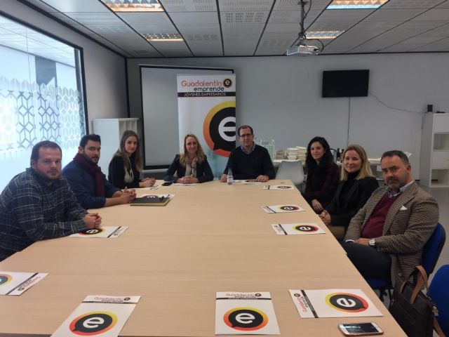 """The City Council signs an agreement with the Association of Young Entrepreneurs """"Guadalentín Emprende"""", Foto 7"""