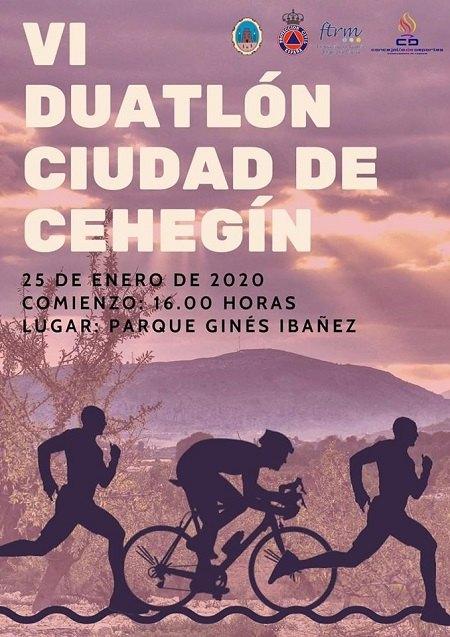 El VI Duatlón 'Ciudad de Cehegín' se celebrará el 25 de enero - 1, Foto 1