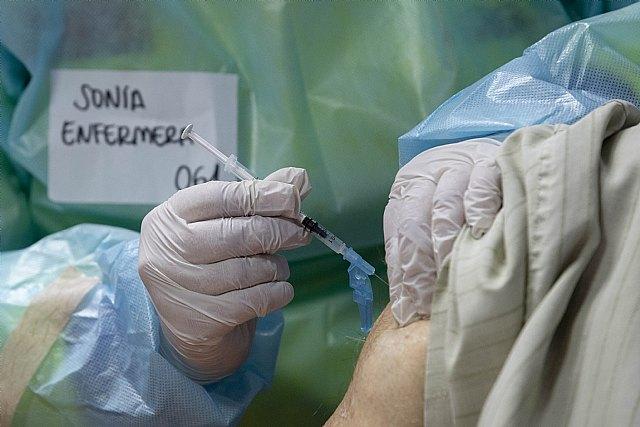 La Región de Murcia administrará el 95 por ciento de sus vacunas disponibles al finalizar el domingo