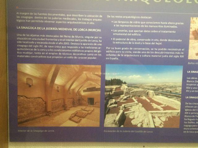 Los descubrimientos arqueológicos de la sinagoga de Lorca protagonizan una exposición en el Museo Sefardí de Toledo - 4, Foto 4