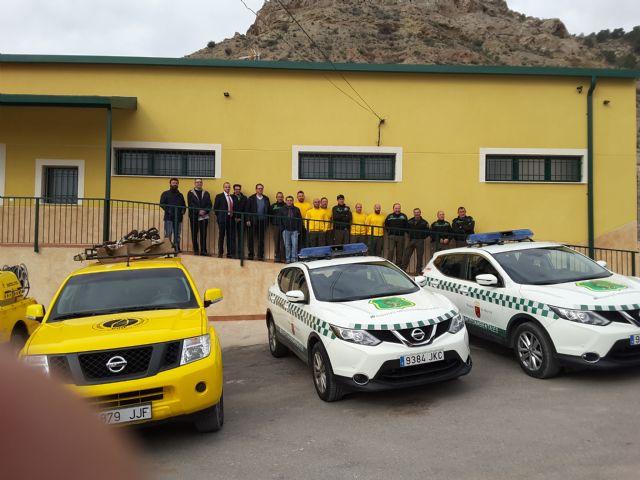 Agricultura pone en marcha una nueva oficina local de agentes medioambientales y base de la brigada forestal en Ricote - 1, Foto 1