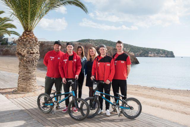 El open tangent bmx convierte a Mazarrón en una referencia internacional de esta modalidad ciclista, Foto 1