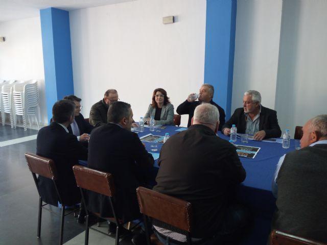 El PP de Totana agradece el compromiso del Consejero de Agua con la Comunidad de Regantes del Trasvase Tajo-Segura de Totana