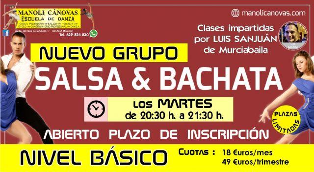 Salsa y bachata, nuevo curso en la escuela de danza Manoli Cánovas, Foto 1