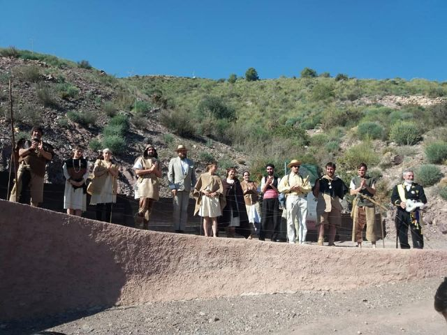The next theatrical visit to the La Bastida site will be on Saturday, April 13, in two morning shifts, Foto 3