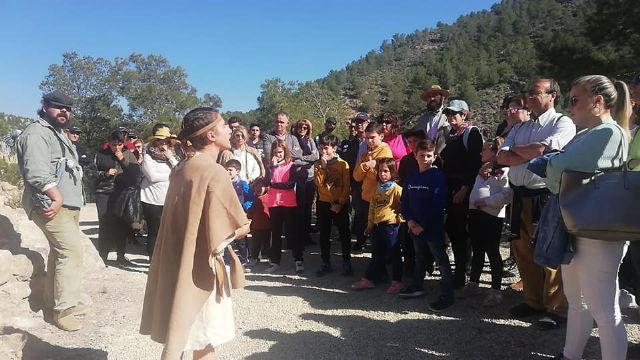 The next theatrical visit to the La Bastida site will be on Saturday, April 13, in two morning shifts, Foto 4