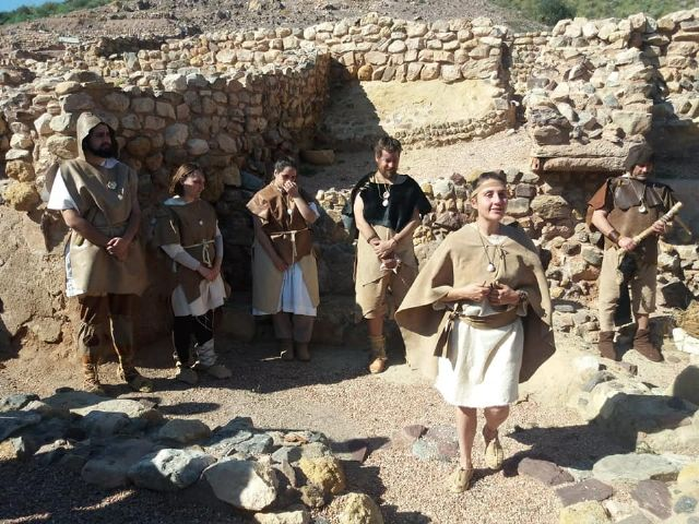 The next theatrical visit to the La Bastida site will be on Saturday, April 13, in two morning shifts, Foto 5