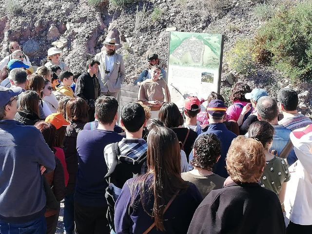 The next theatrical visit to the La Bastida site will be on Saturday, April 13, in two morning shifts, Foto 6