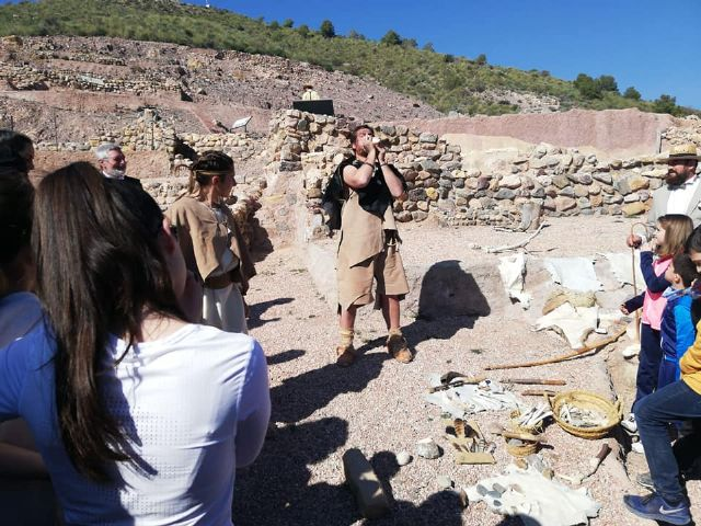 The next theatrical visit to the La Bastida site will be on Saturday, April 13, in two morning shifts, Foto 7