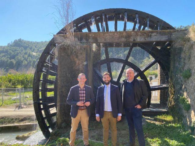La Comunidad reafirma su compromiso para rehabilitar la Ruta de las Norias de Abarán - 1, Foto 1