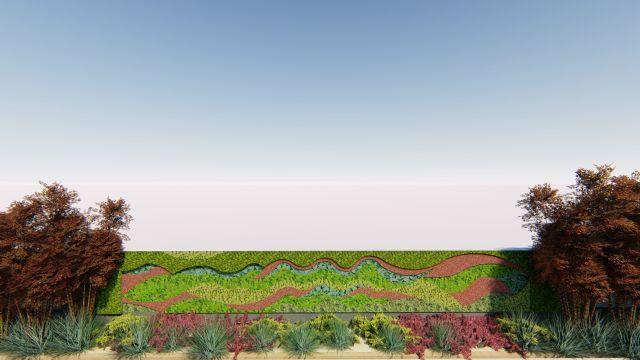 El Ayuntamiento diseña un nuevo jardín vertical en el Paseo de Alfonso XIII - 1, Foto 1