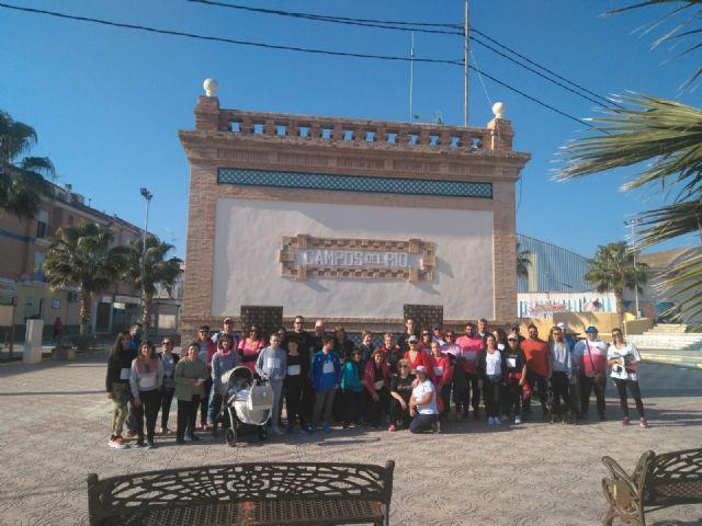 Buen ambiente en la marcha solidaria organizada por D´Genes en Campos del Río - 3, Foto 3