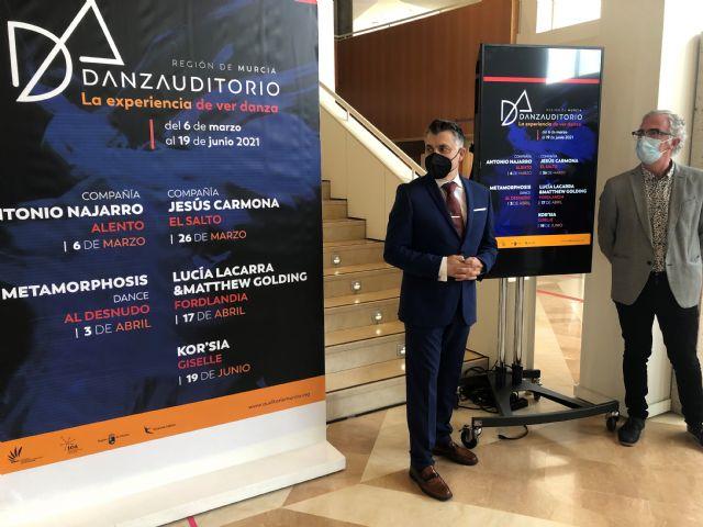Cultura programa hasta junio en el Auditorio regional cinco espectáculos en el ciclo ´danzAuditorio´ - 1, Foto 1