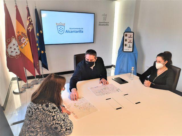 El Ayuntamiento adapta los pasos de peatones de Alcantarilla a personas con trastornos del espectro autista - 4, Foto 4