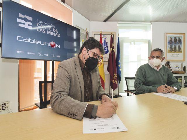 La Fundación Cante de las Minas y Cableunión Media sellan su compromiso tecnológico - 3, Foto 3