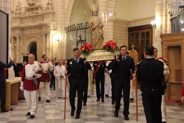 El Obispo agradece la labor de la Policía Local en el día de su patrón - 1, Foto 1