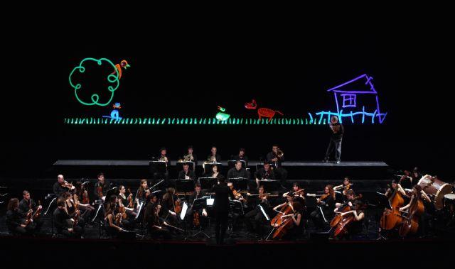 Los 'Conciertos en Familia' de la Sinfónica regional finalizan el domingo con 'Pedro y el lobo' que escenifica Títeres Etcétera - 1, Foto 1