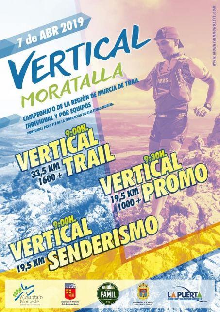 El 7 de abril, el Trail se cita en Moratalla - 1, Foto 1