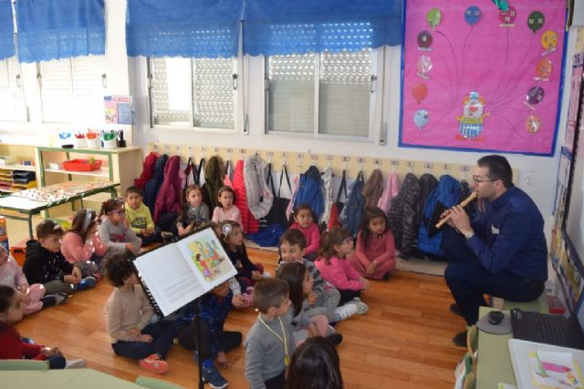 D´Genes gave a storytelling to students of Early Childhood Education to raise awareness about rare diseases