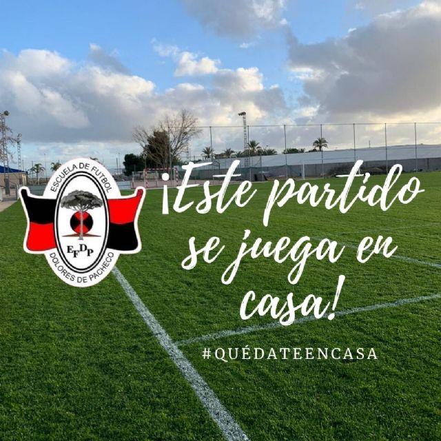 Los jugadores de la Escuela de Fútbol de Dolores de Pacheco juegan este partido en casa - 3, Foto 3