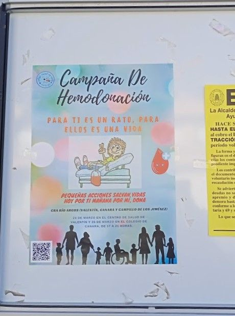 Campaña de donación de sangre CRA Río Argos Para ti es un rato para ellos una vida - 1, Foto 1