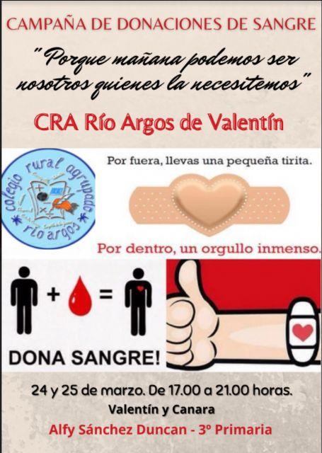 Campaña de donación de sangre CRA Río Argos Para ti es un rato para ellos una vida - 4, Foto 4