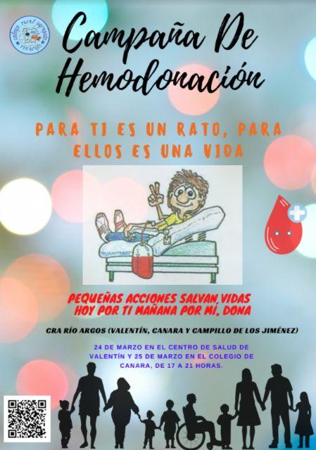 Campaña de donación de sangre CRA Río Argos Para ti es un rato para ellos una vida - 5, Foto 5