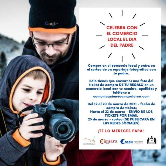 Ayuntamiento, Cámara de Comercio y Aseplu lanzan una campaña para fomentar la compra en el comercio de Puerto Lumbreras por el Día del Padre - 1, Foto 1