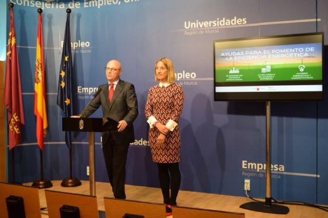 Unas 180 empresas murcianas se beneficiarán de las ayudas para el fomento de la eficiencia energética y el uso de las energías renovables - 1, Foto 1