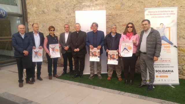 El 48,6% de los contribuyentes en la Región de Murcia aún no marcan la X Solidaria - 2, Foto 2