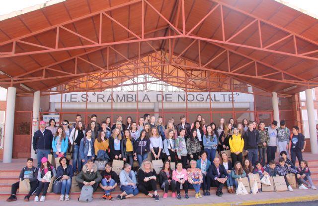 Jóvenes de Francia, Eslovaquia, Italia y Dinamarca visitan Puerto Lumbreras para conocer su cultura - 1, Foto 1