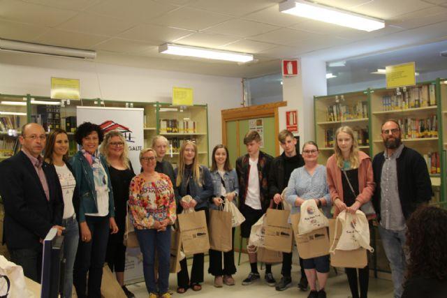 Jóvenes de Francia, Eslovaquia, Italia y Dinamarca visitan Puerto Lumbreras para conocer su cultura - 2, Foto 2