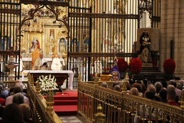 La Virgen de la Fuensanta regresa mañana a su santuario tras celebrar el aniversario de su coronación - 1, Foto 1