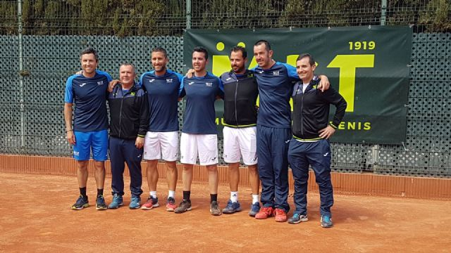 Pedro Cánovas proclaimed champion of Spain with the Murcia Tennis Club - 1