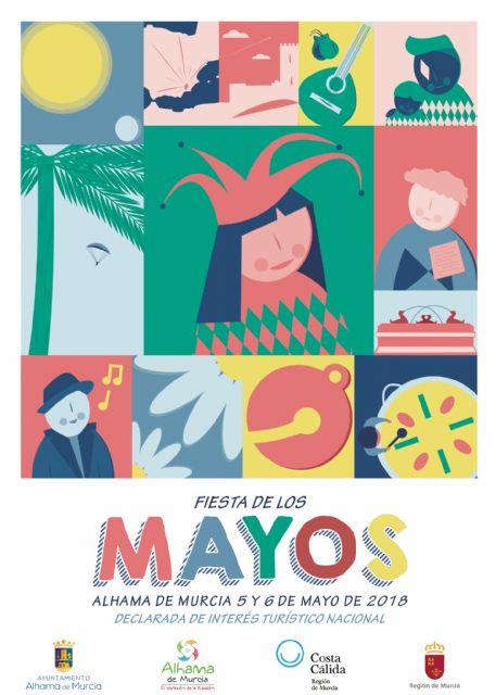 Acta del jurado calificador del concurso de diseño del cartel anunciador FIESTA DE LOS MAYOS 2018 - 1, Foto 1