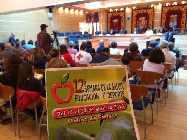 La 12ª Semana de la Salud, Educación y Deporte de Molina de Segura se celebra hasta el domingo 22 de abril con una apuesta por la diversidad - 3, Foto 3