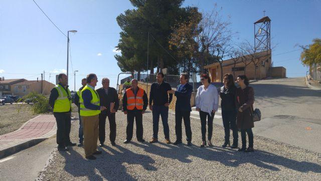 Fomento mejora el firme de la carretera que une las pedanías molinenses de El Rellano y La Hurona - 1, Foto 1
