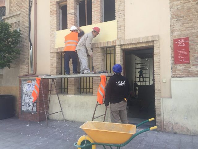 Ahora Murcia pregunta a Ballesta por las obras del antiguo colegio del Carmen y por el uso previsto para la planta destinada a los vecinos del barrio - 1, Foto 1