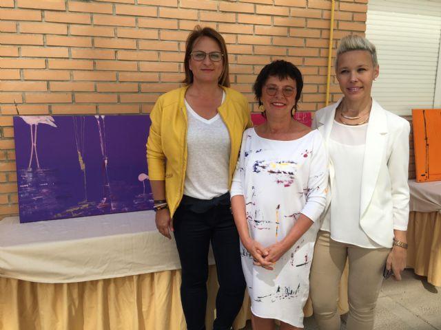 Ewa Blaut imparte un taller de pintura en San Pedro del Pinatar - 1, Foto 1