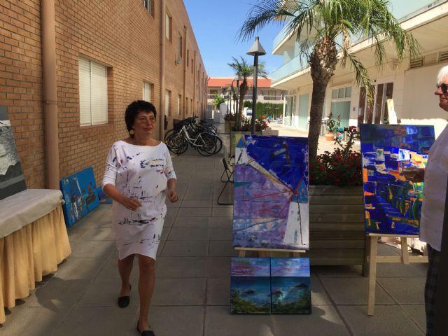 Ewa Blaut imparte un taller de pintura en San Pedro del Pinatar - 3, Foto 3