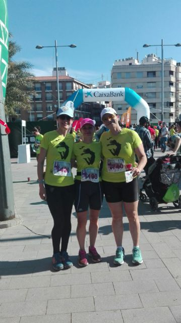 The CAT participated in the III Race of Women and in the VII Race of La Serrecica