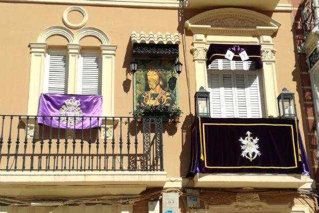 El balcón de la Plaza del Risueño, el más bello de la Semana Santa de Cartagena - 1, Foto 1