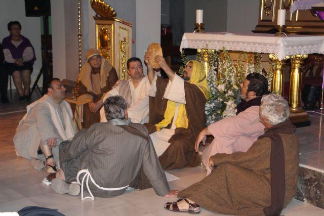 Representación de la Pasión y el camino a la Cruz en el Lunes Santo de San Pedro del Pinatar - 2, Foto 2