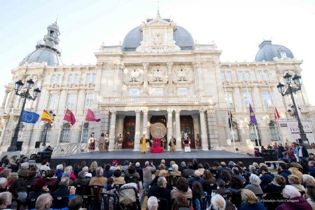 El Lavatorio de Pilatos volverá a representarse ante el Palacio Consistorial - 1, Foto 1