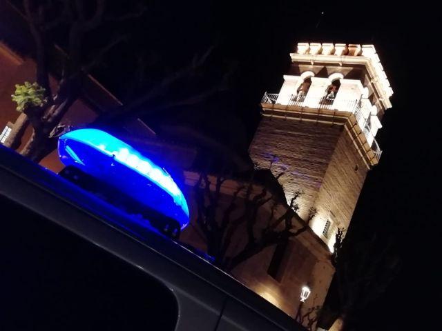 La Policía Local de Totana recuerda que el centro urbano estará cortado Jueves Santo y Viernes Santo ambos días