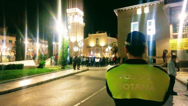 La Polic�a Local de Totana recuerda que el centro urbano estar� cortado Jueves Santo y Viernes Santo ambos d�as, Foto 2
