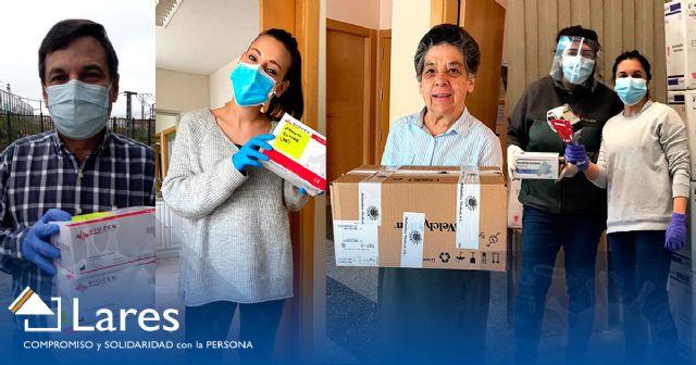EBRO FOODS dona material sanitario que irá a las residencias de mayores de la Federación LARES - 1, Foto 1