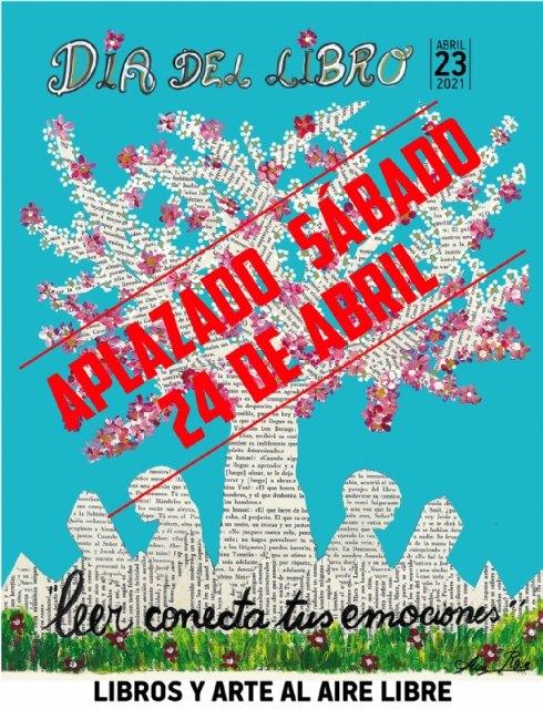 Se aplazan al próximo 24 de abril las actividades programadas mañana sábado al aire libre por Cultura con motivo del Día del Libro