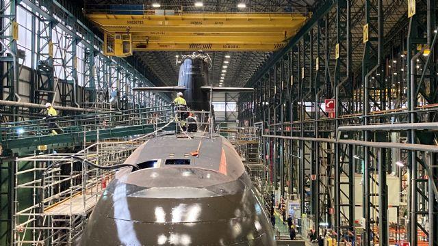 Su Majestad El Rey presidirá la ceremonia de puesta a flote del S-81, el primer submarino de la serie S-80, en Navantia Cartagena - 3, Foto 3